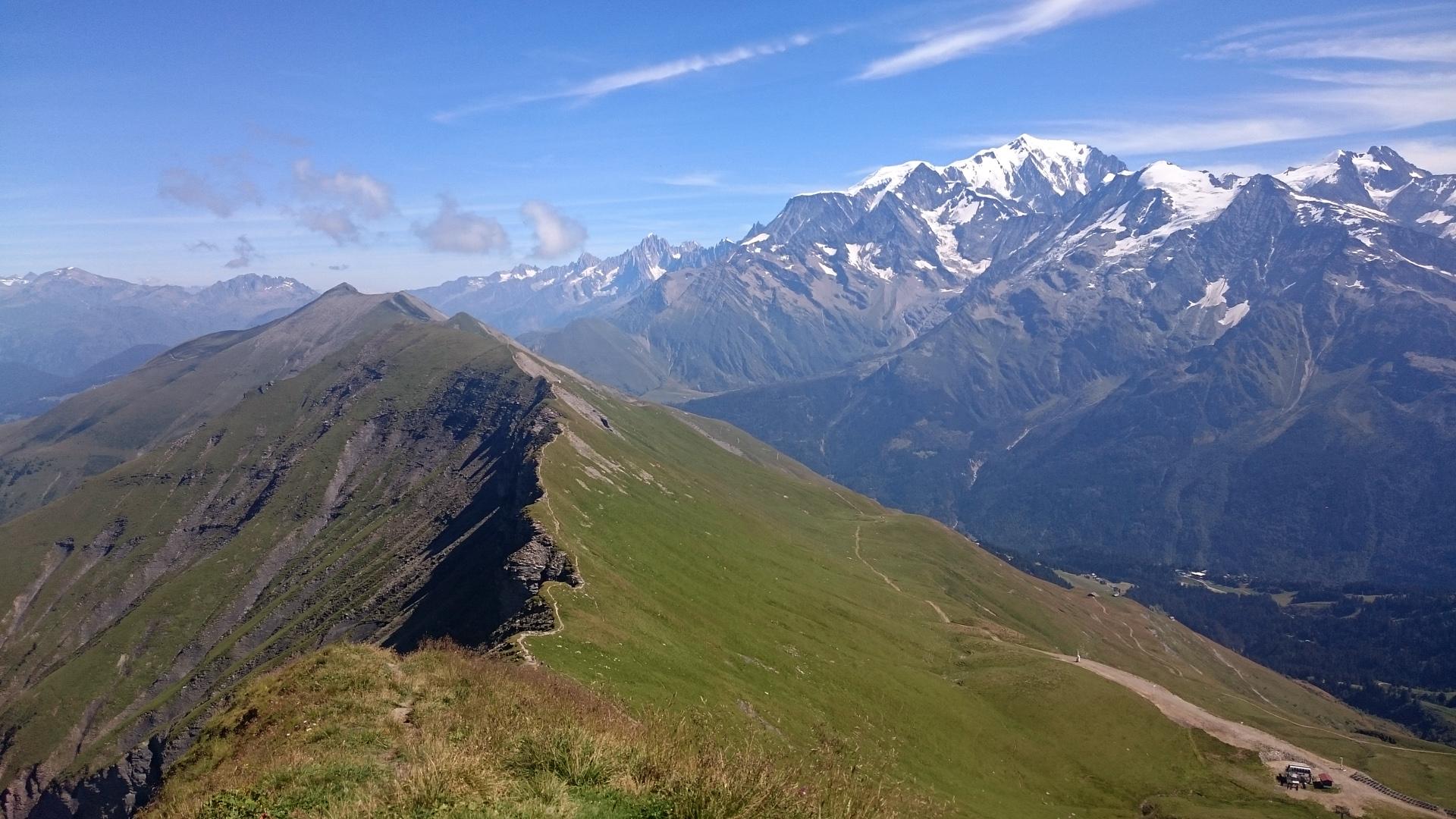 Aiguille Croche & Mont Joly