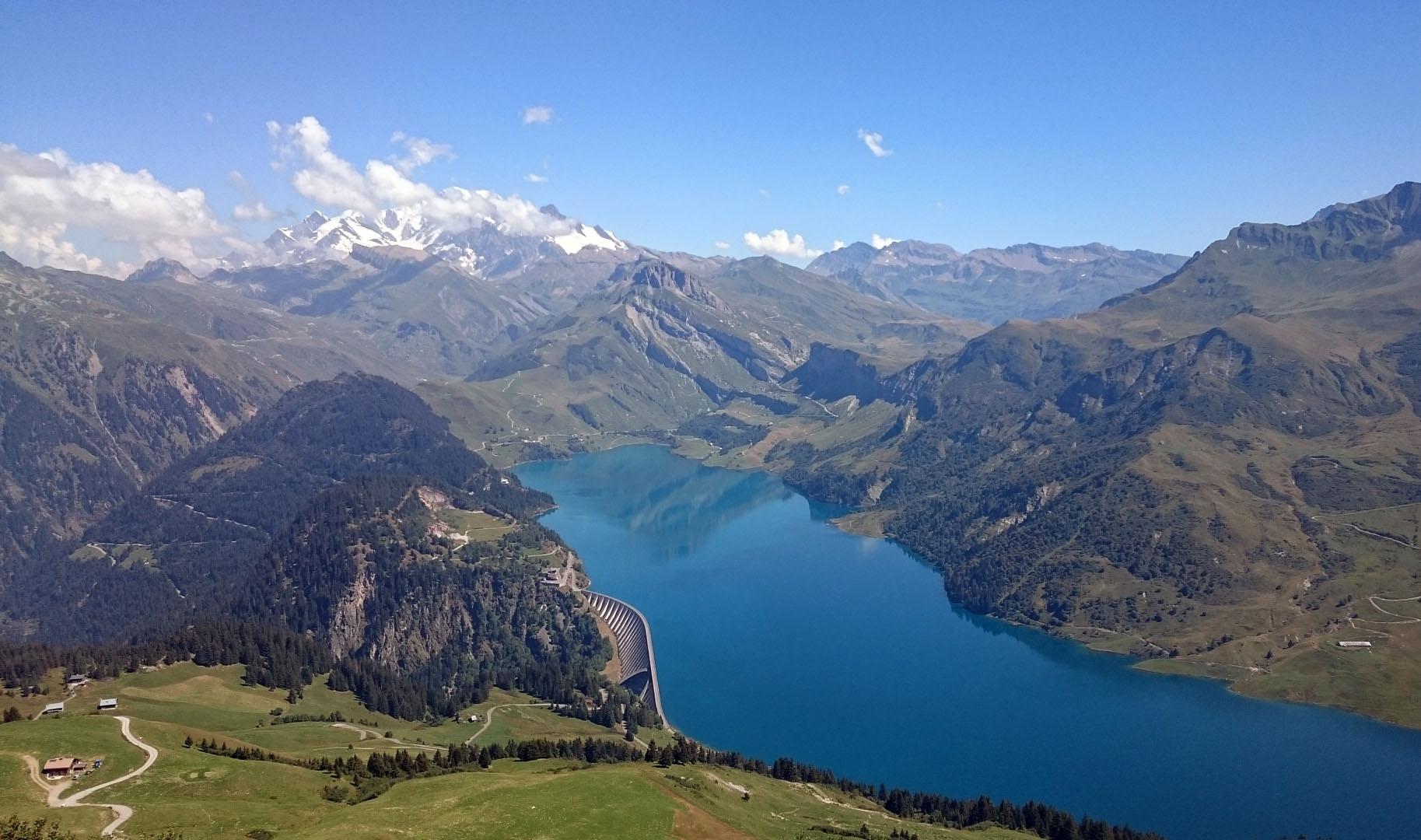 Lac de Roselend & Pierra Menta