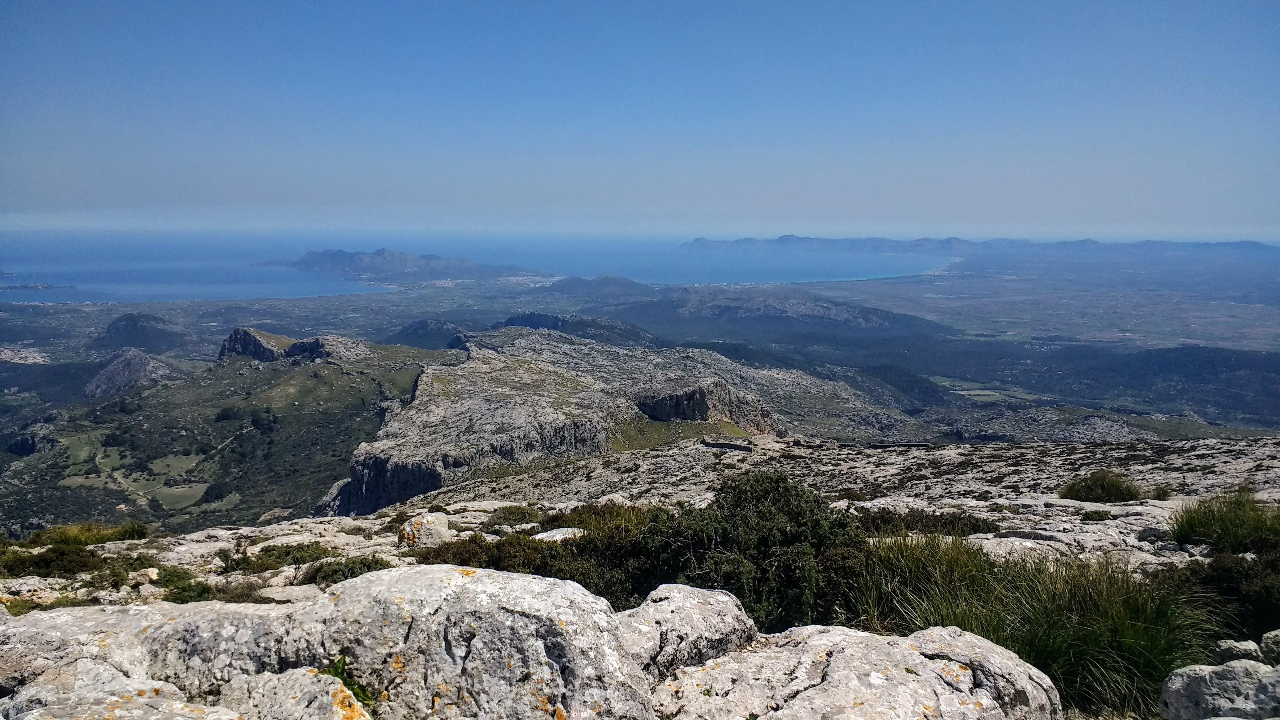 Serra de Tramuntana - Puig de Massanella & Puig Tomir