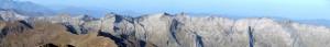 Panorama 3 Comtes Bassies depuis Montcalm